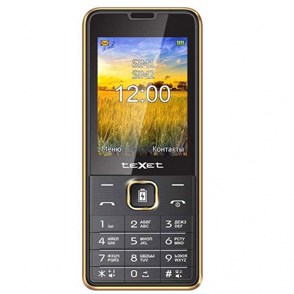 Мобильный телефон Texet TM-D227 золото