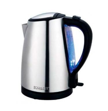 Электрический чайник Scarlett SC-EK21S27 (металл)