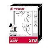 Внешний жесткий диск 2,5 2TB Transcend TS2TSJ25A3W, фото 2