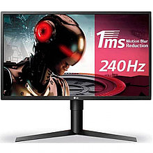 """Монитор LG27"""" 27GK750-F, Black/Red, 1920x21601080 TN,  Mega 2ms, 16:9, 400cd/m2, 170°/160°,  1000:1 (5М:1),"""