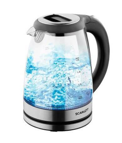 Электрический чайник Scarlett SC-EK27G69 (стекло)