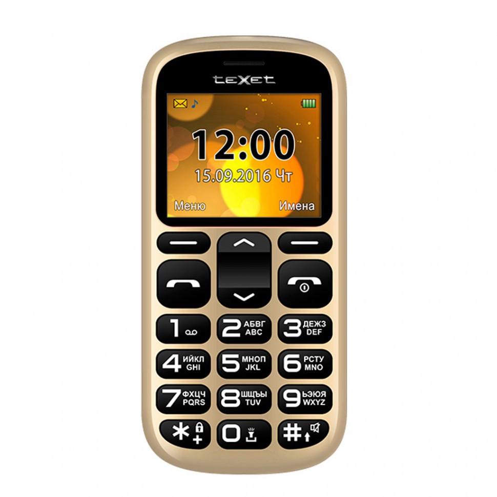 Мобильный телефон Texet TM-B306 золото