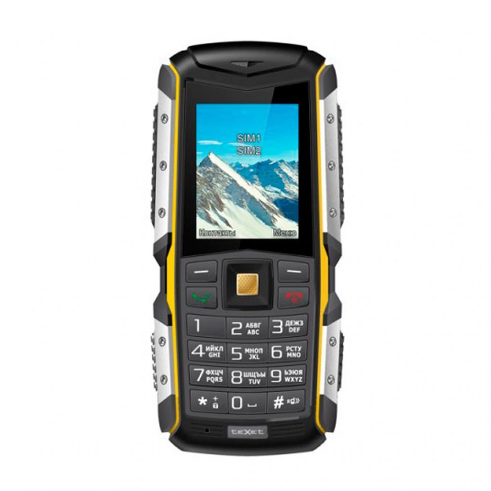 Мобильный телефон Texet TM-512R черный-желтый