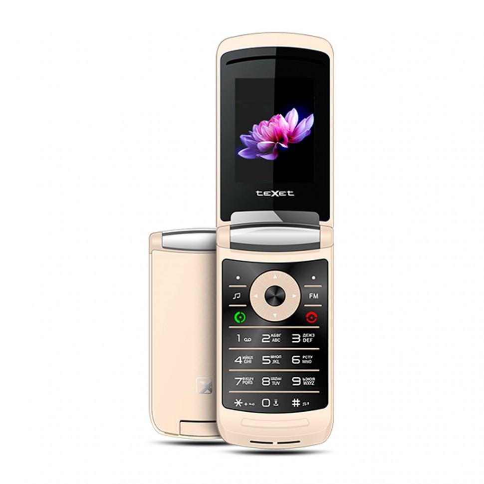 Мобильный телефон Texet TM-402 шампань