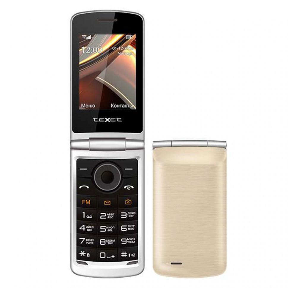 Мобильный телефон Texet TM-404 золото
