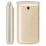 Мобильный телефон Texet TM-404 золото, фото 3