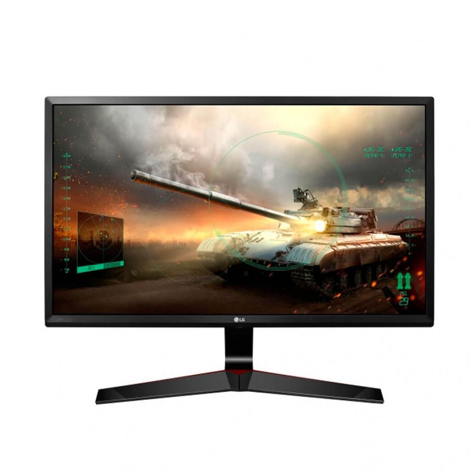 """Монитор LG 27"""" 27MP59G-P, Black, 1920 x 1080 IPS, 5ms/1ms Monitor Blur Reduction, 16:9, 250cd/m2, 178°/178°,"""