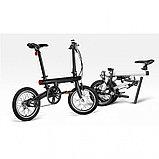 Электрический велосипед Xiaomi Mi QiCYCLE Folding Electric Bicycle Black, фото 3