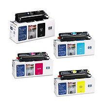 Комплект картриджей для НР Color LaserJet 2500/1500, (черный, голубой, пурпурный, желтый)