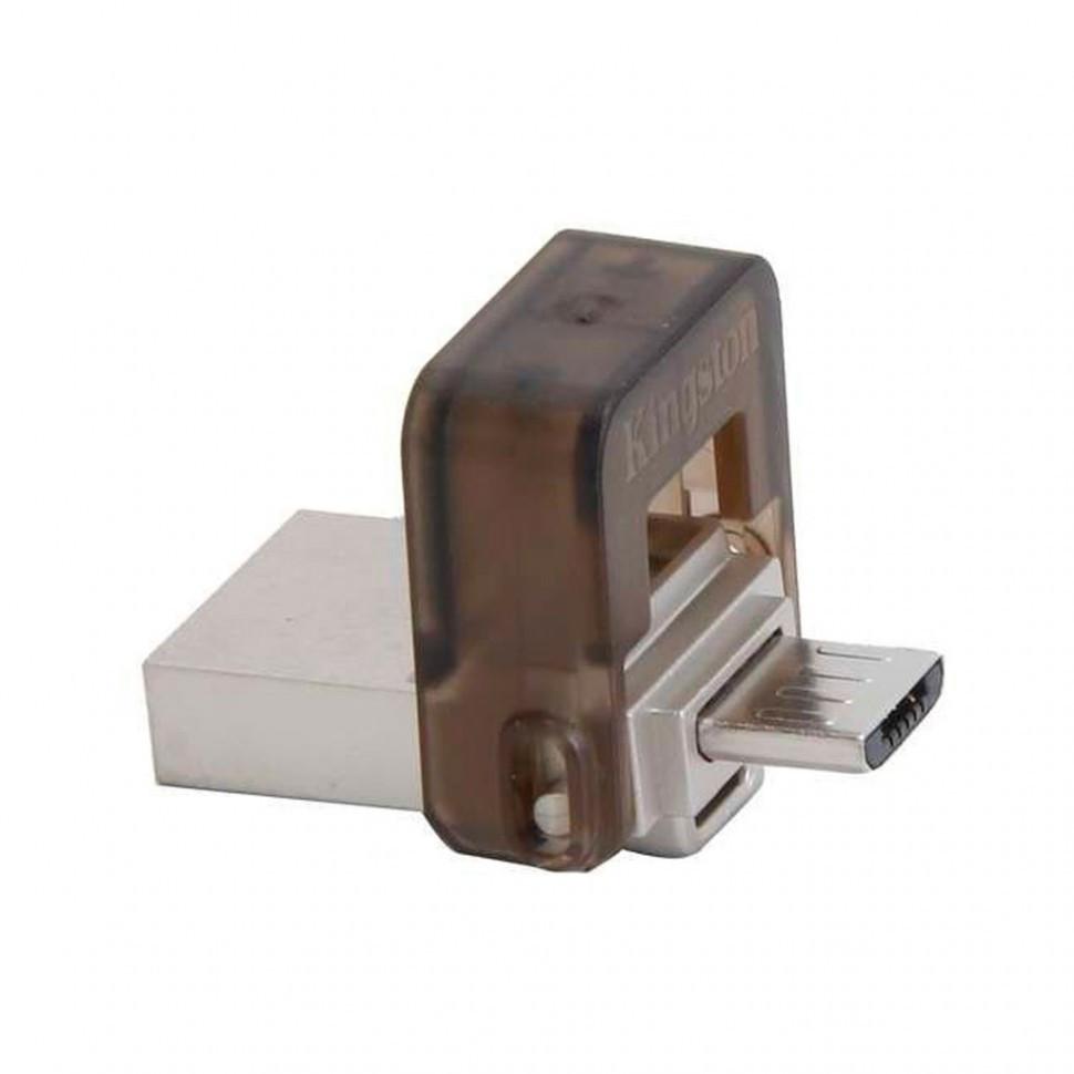USB Флеш 8GB 2.0 Kingston DTDUO/8GB метал