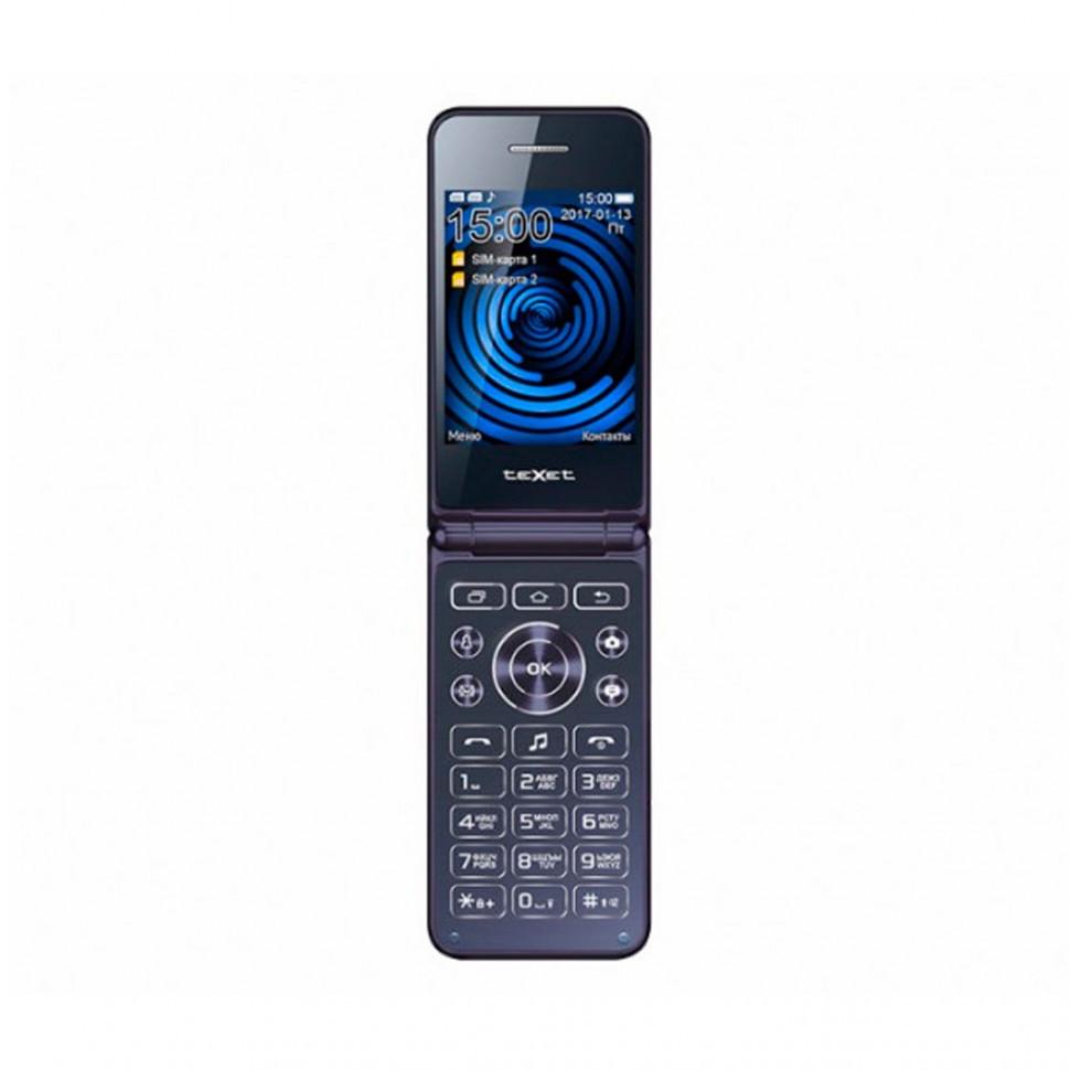 Мобильный телефон Texet TM-400 синий