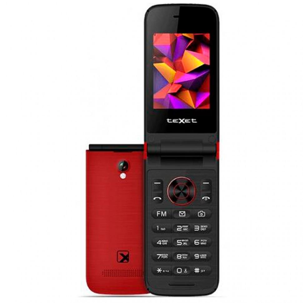 Мобильный телефон Texet TM-401 гранат