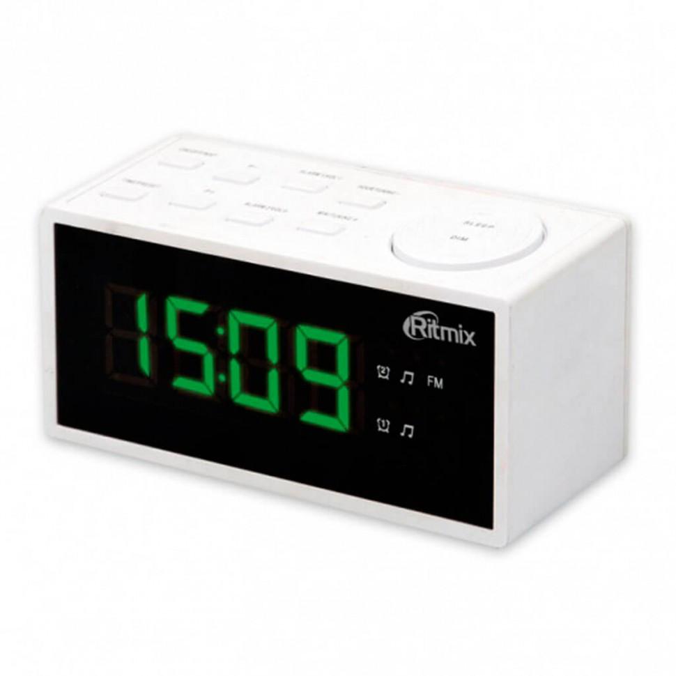 Радиочасы Ritmix RRC-1212 white