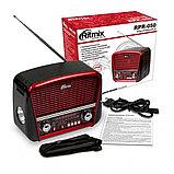 Радиоприемник портативный Ritmix RPR-050 RED, фото 3