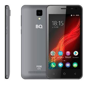 Смартфон BQ-4500L Fox LTE Серый