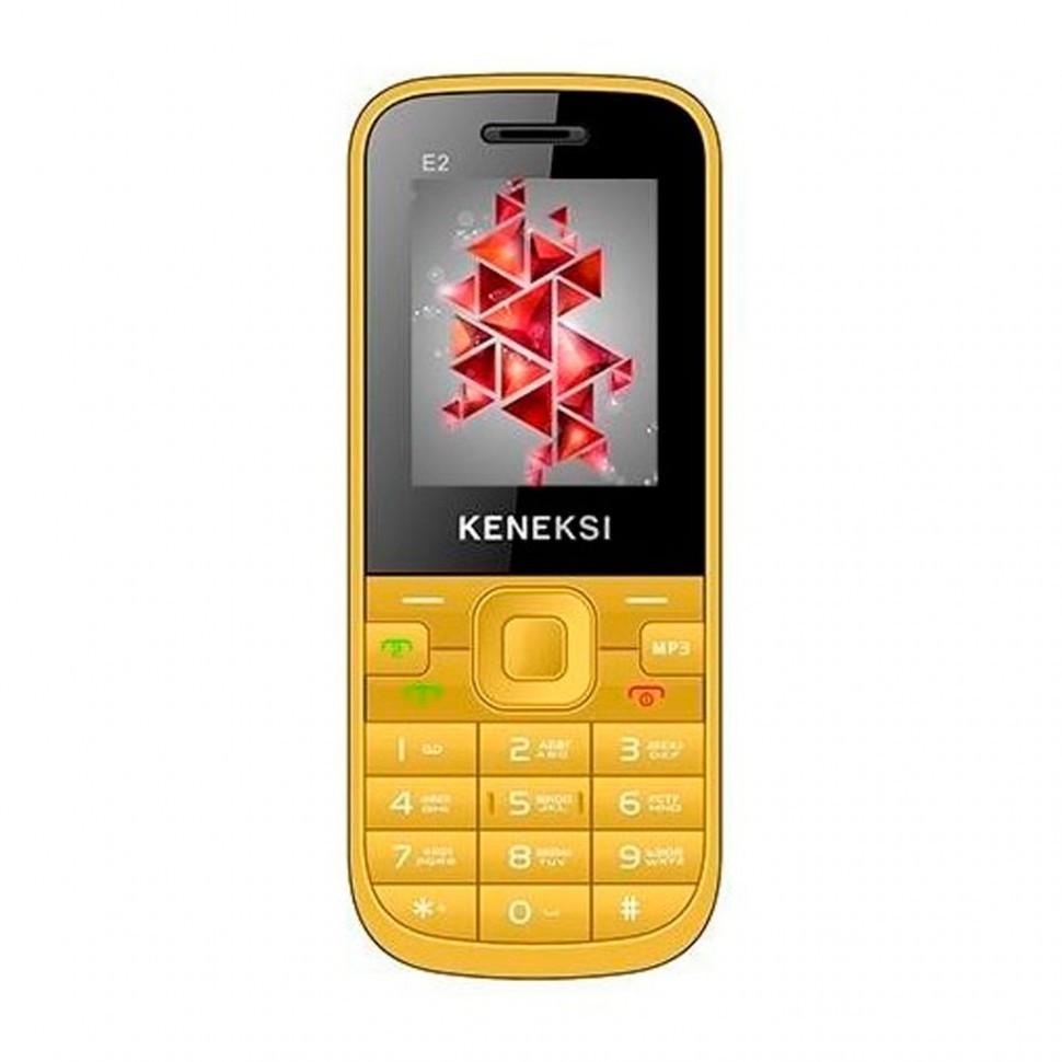 Мобильный телефон KENEKSI E2 yellow