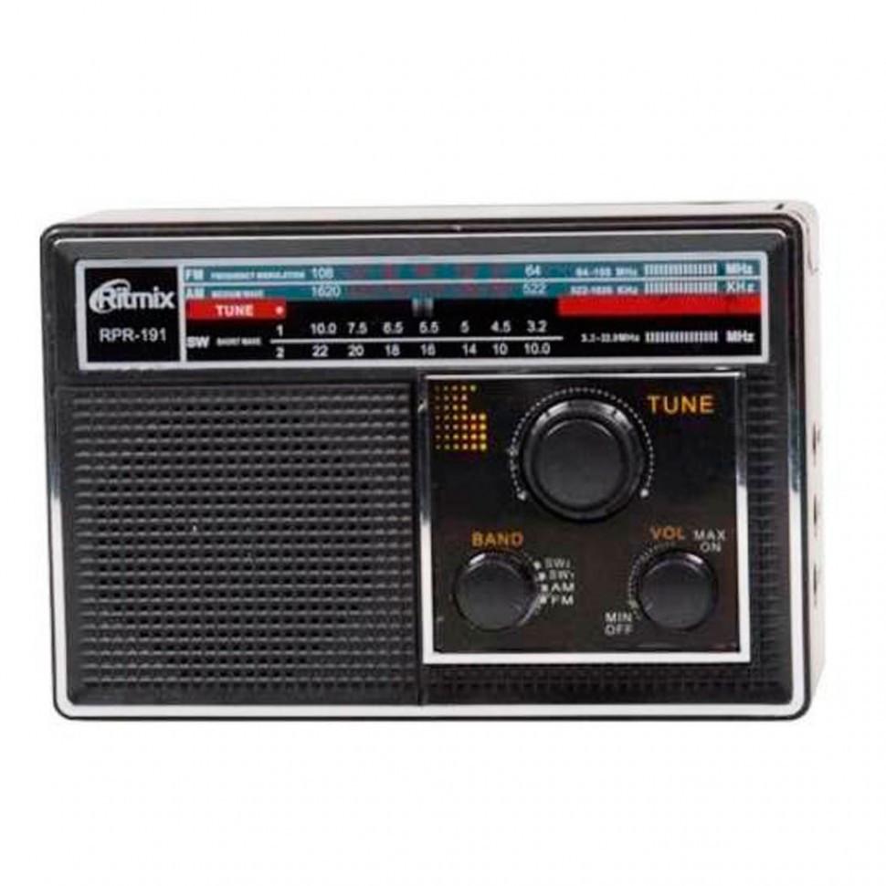 Радиоприемник портативный Ritmix RPR-191