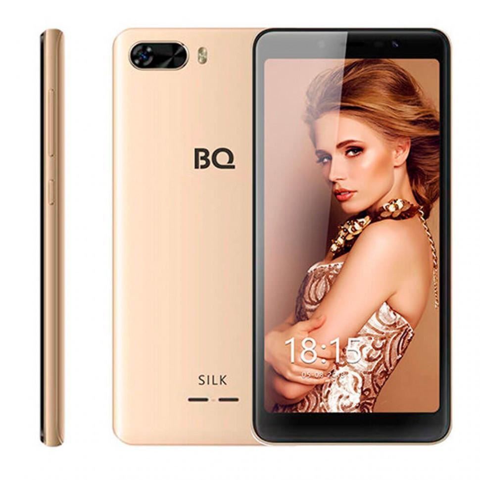 Смартфон BQ-5520L Silk Золотой