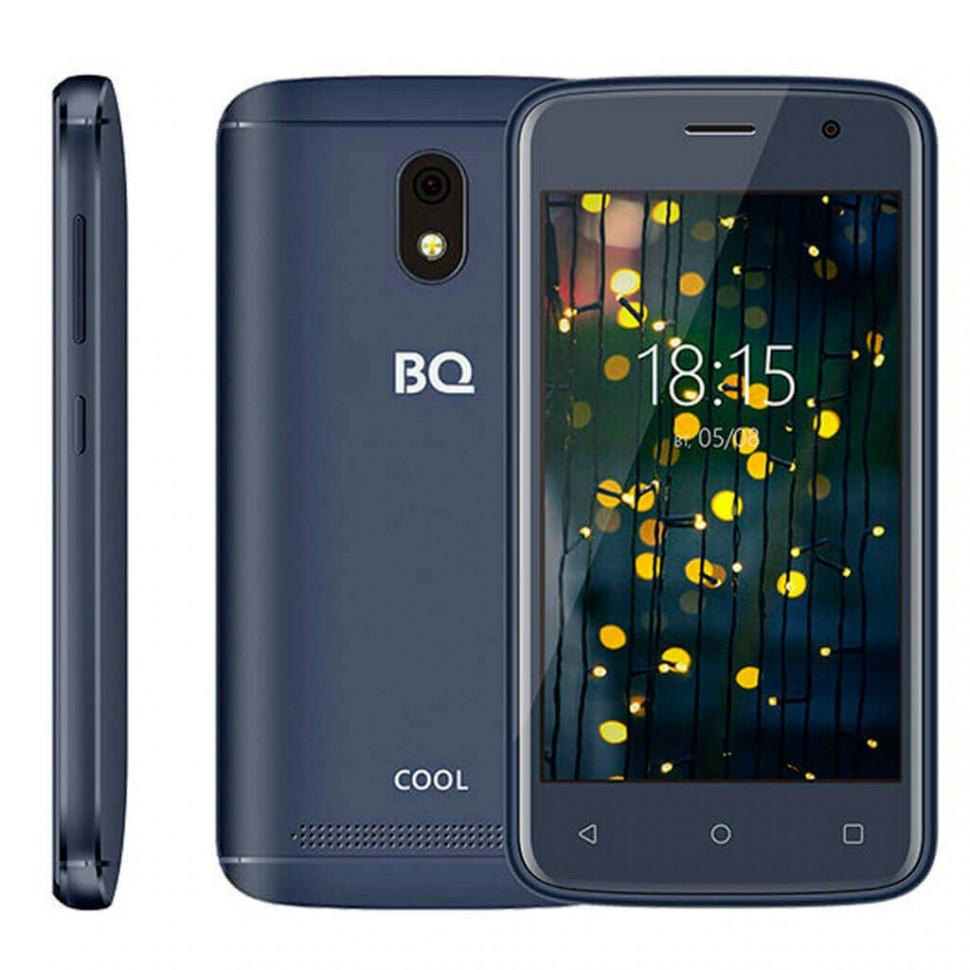 Смартфон BQ-4001G Cool Тёмно-синий