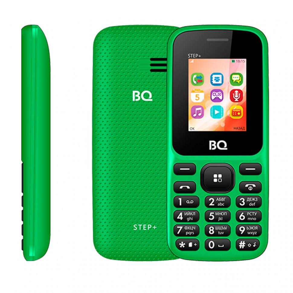 Мобильный телефон BQ-1807 Step+ зеленый