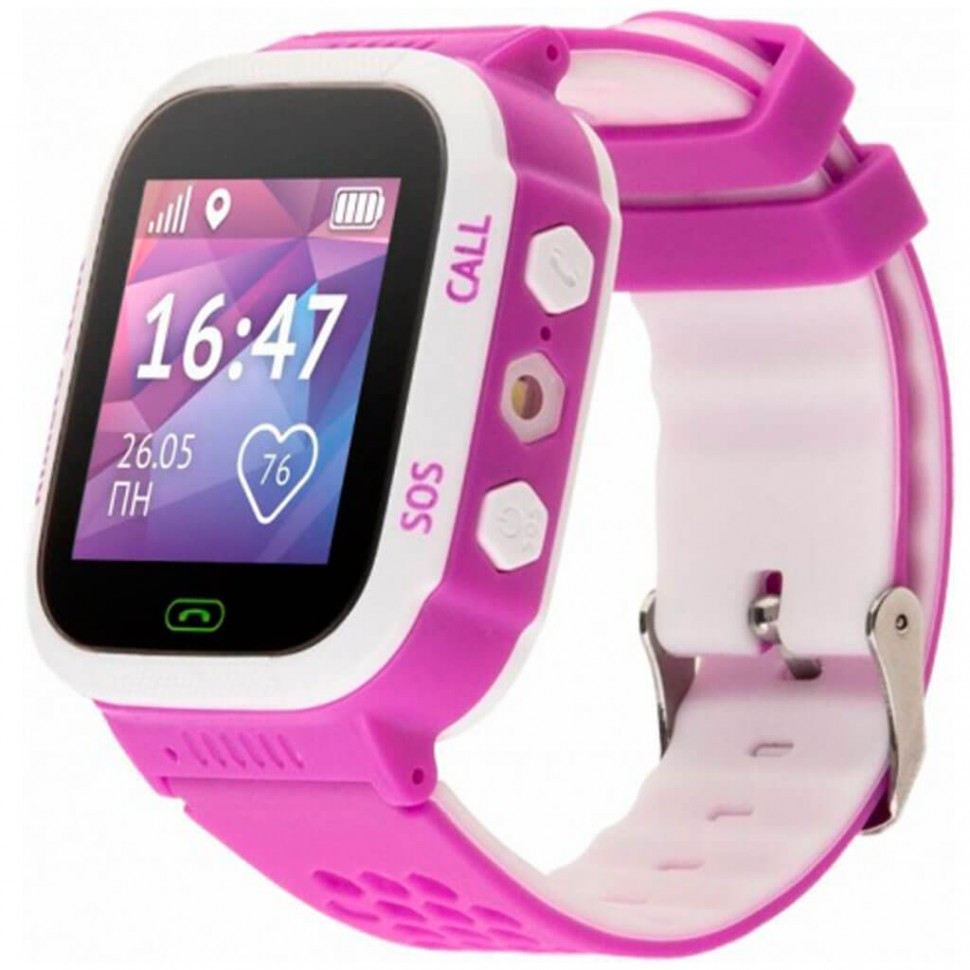 Смарт часы Aimoto Start розовый