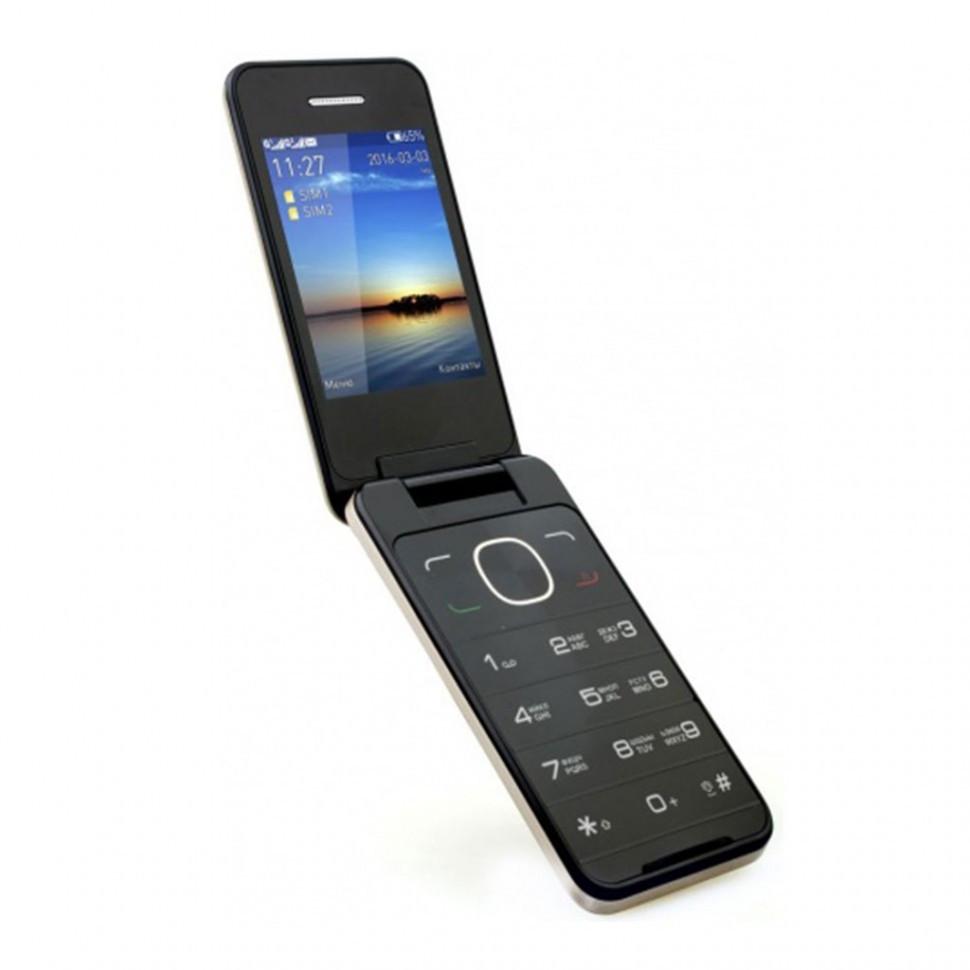 Мобильный телефон Jinga Simple F500 черный