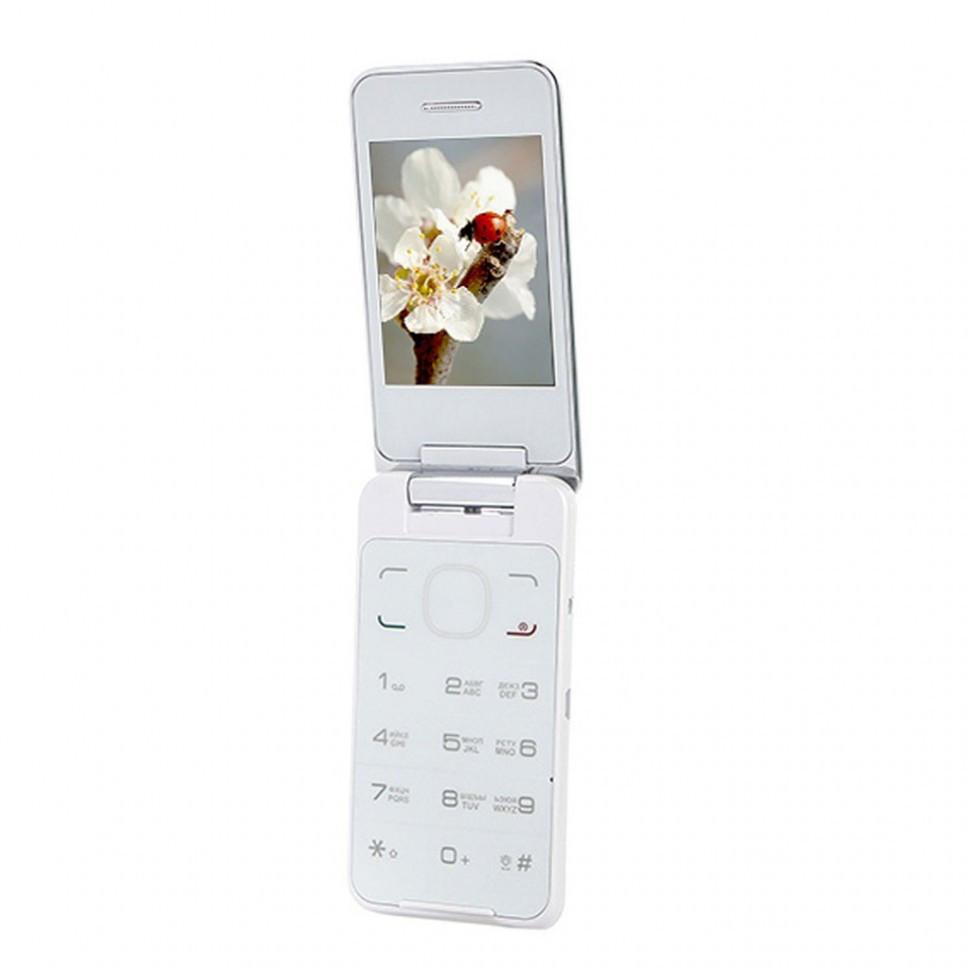 Мобильный телефон Jinga Simple F500 белый