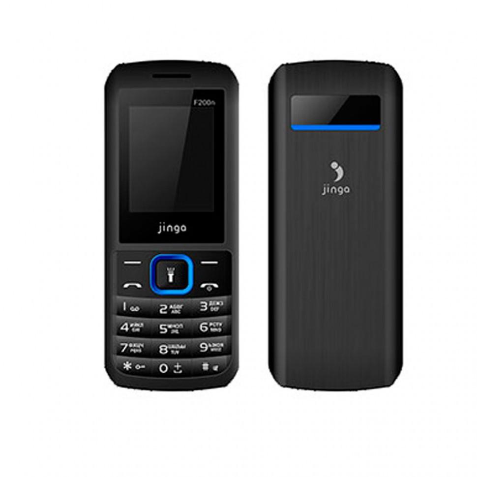 Мобильный телефон Jinga Simple F200n Чёрно-Синий