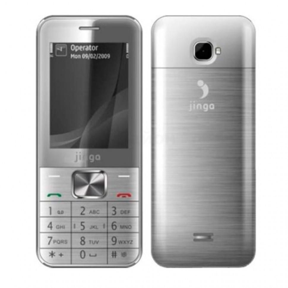 Мобильный телефон Jinga  PB100 серебро
