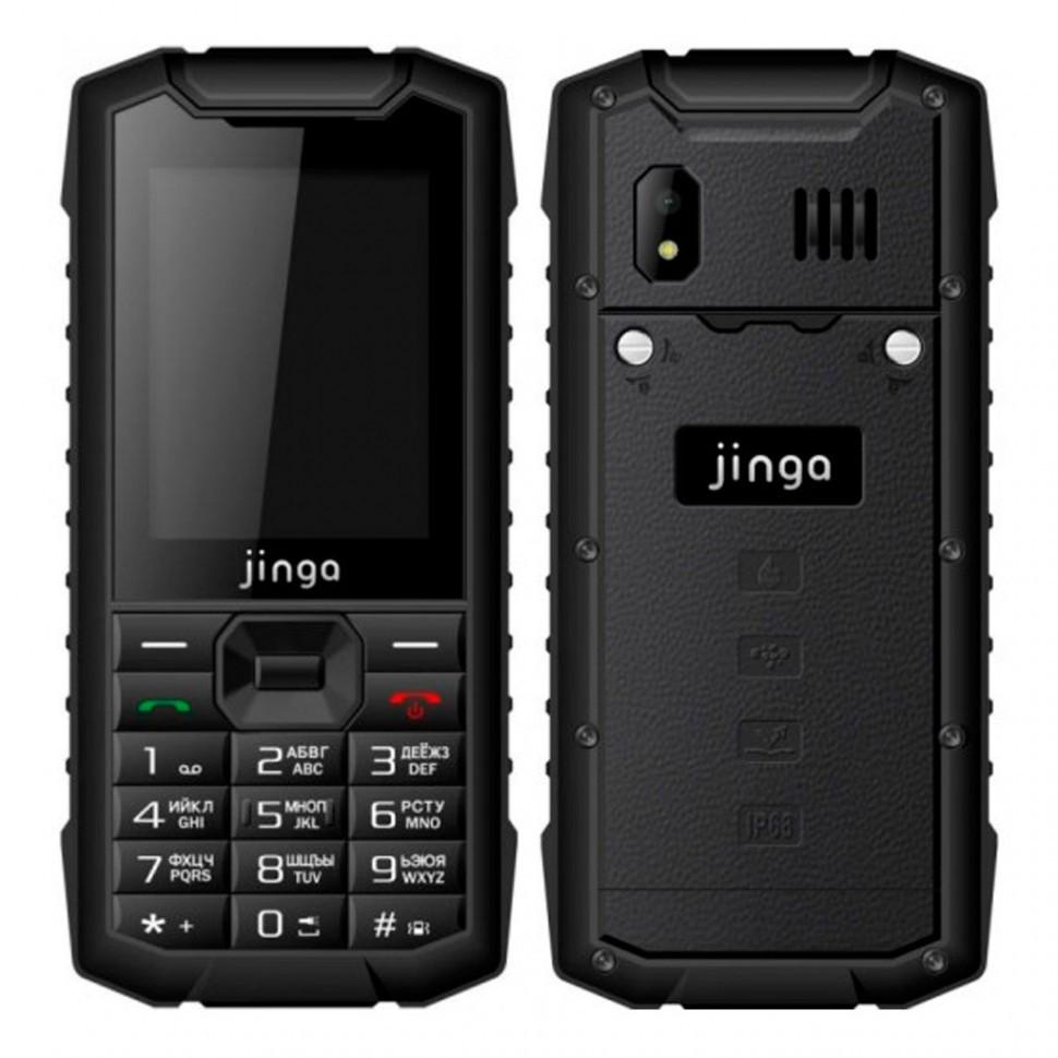 Мобильный телефон Jinga IP68B Черный