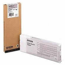 Картридж Epson T6067 Light Black 220 мл (C13T606700)