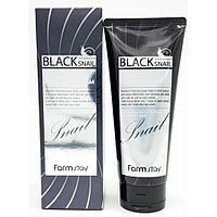 FarmStay Пенка глубокоочищающая с муцином черной улитки Black Snail Deep Cleansing Foam 180 мл