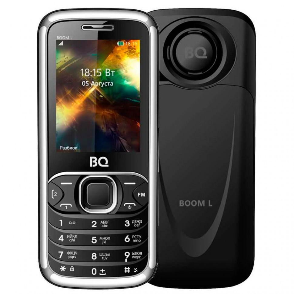 Мобильный телефон BQ-2427 BOOM L Черный