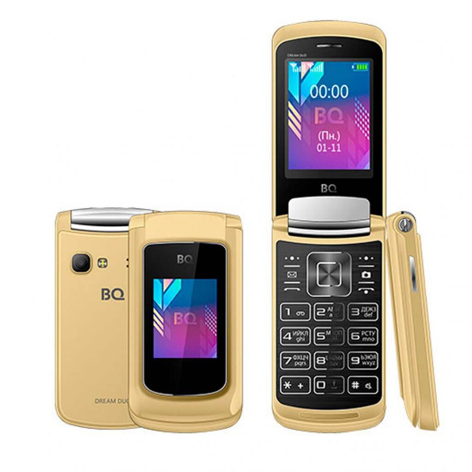 Мобильный телефон BQ-2433 Dream DUO Золотой