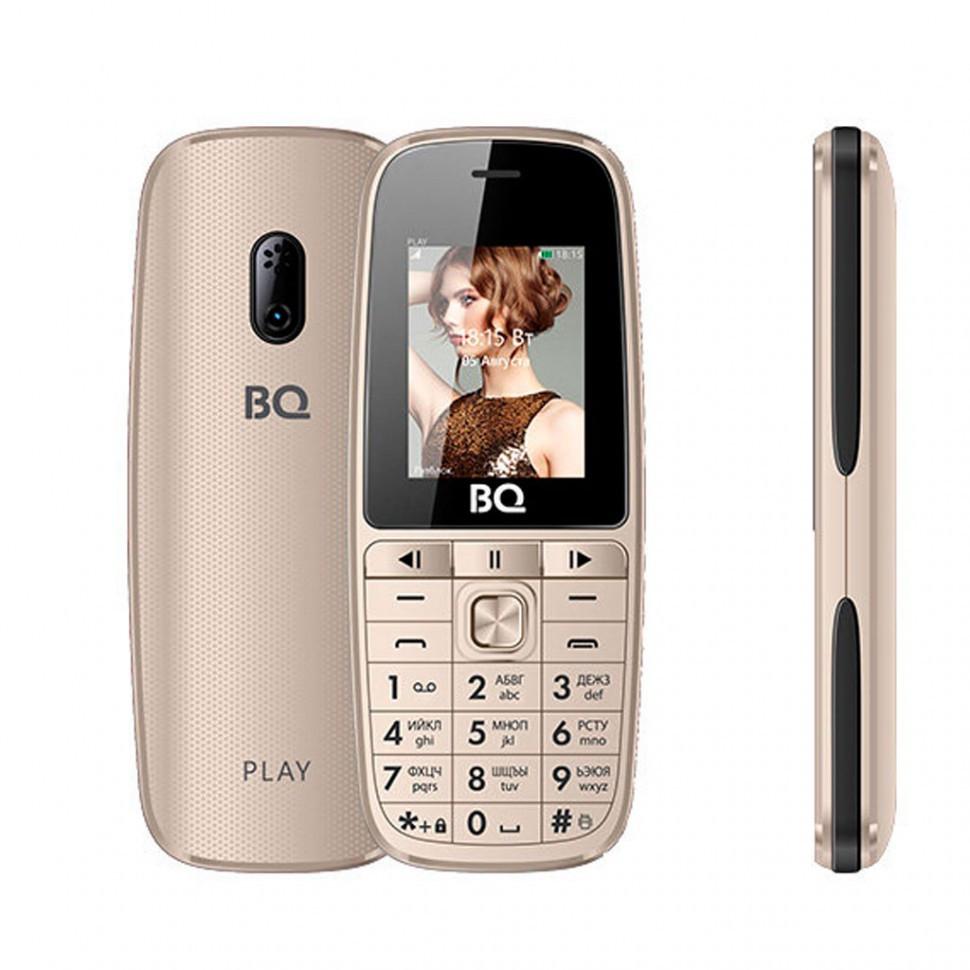 Мобильный телефон BQ-1841 Play Золотой
