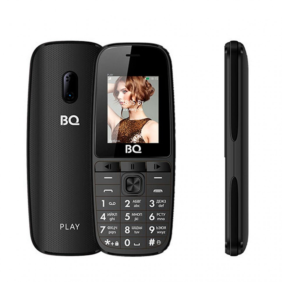 Мобильный телефон BQ-1841 Play Чёрный
