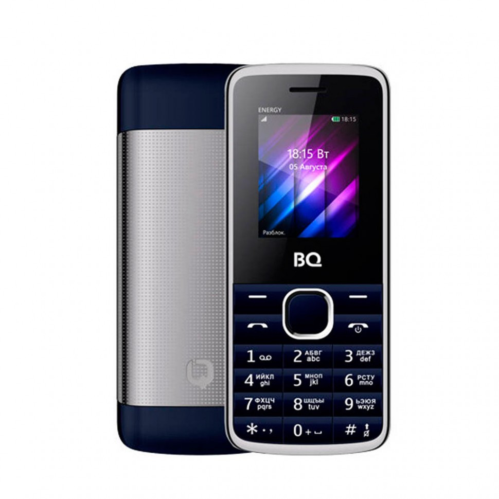 Мобильный телефон BQ 1840 Energy синий
