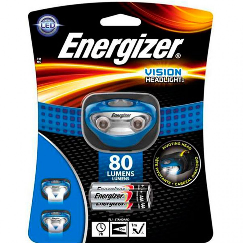 Фонарь налобный Energizer Vision 3x AAA