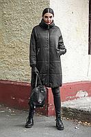 Женское зимнее черное пальто DOGGI 6280 черный 42р.