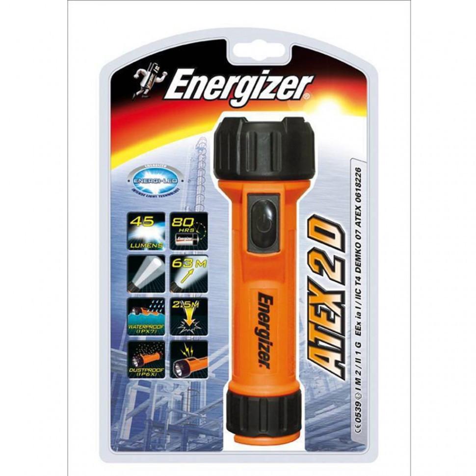 Фонарь взрывозащищенный Energizer  ATEX  2x AA