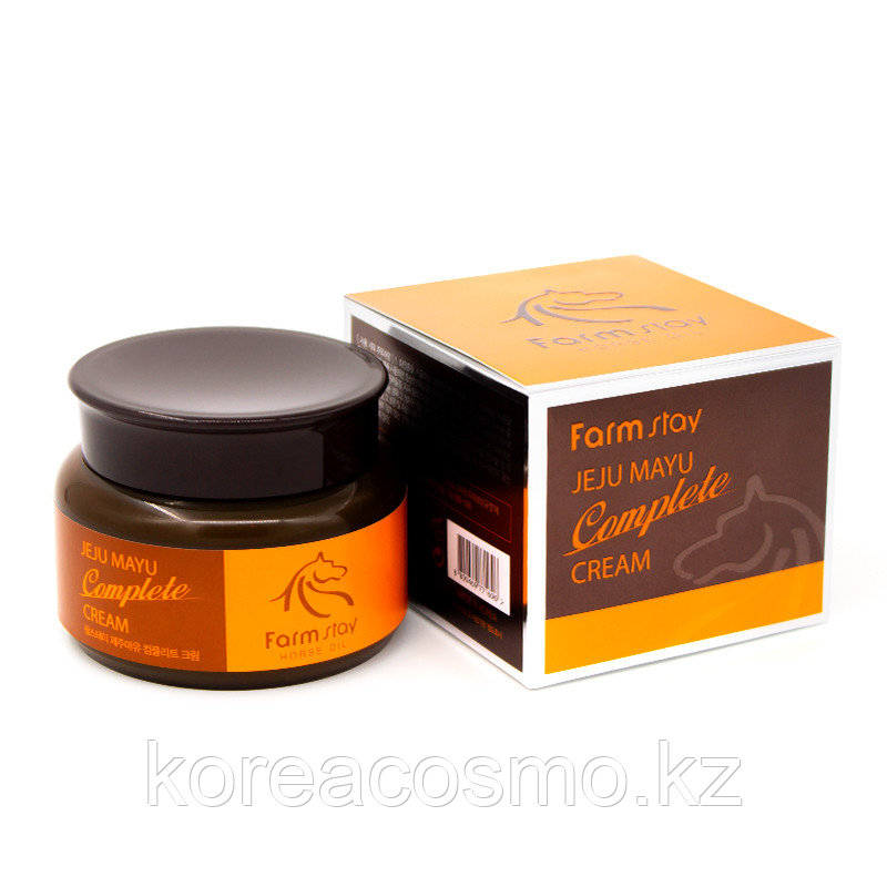 FarmStay Jeju Mayu Complete Cream Комплексный крем для лица на экстракте жира лошади 100 мл.