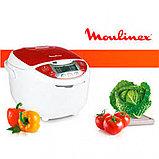 Мультиварка Moulinex MK705132 бело-красный, фото 3