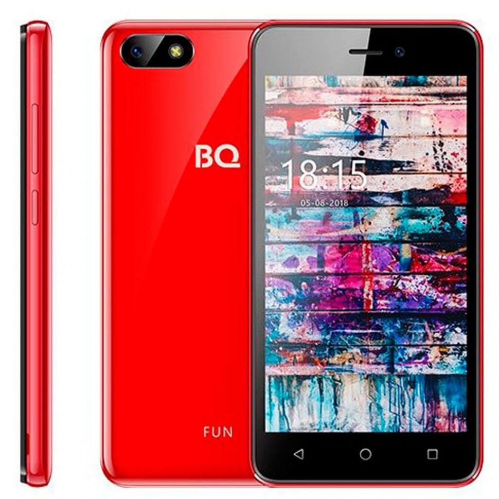 Смартфон BQ-5002G FUN Красный Глянцевый