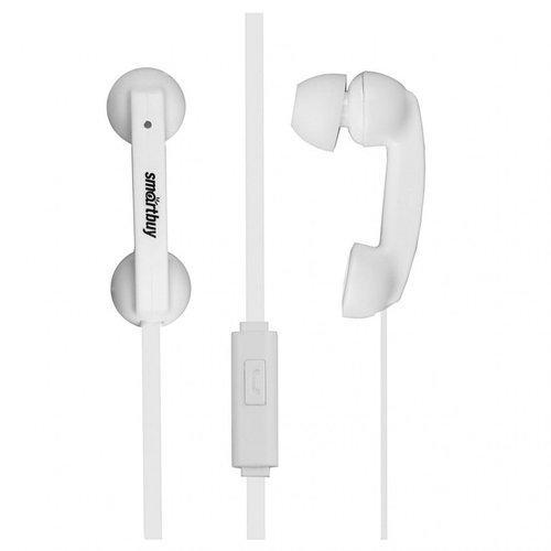 Универсальная мобильная гарнитура SmartBuy HELLO, белая (SBH-210)/240