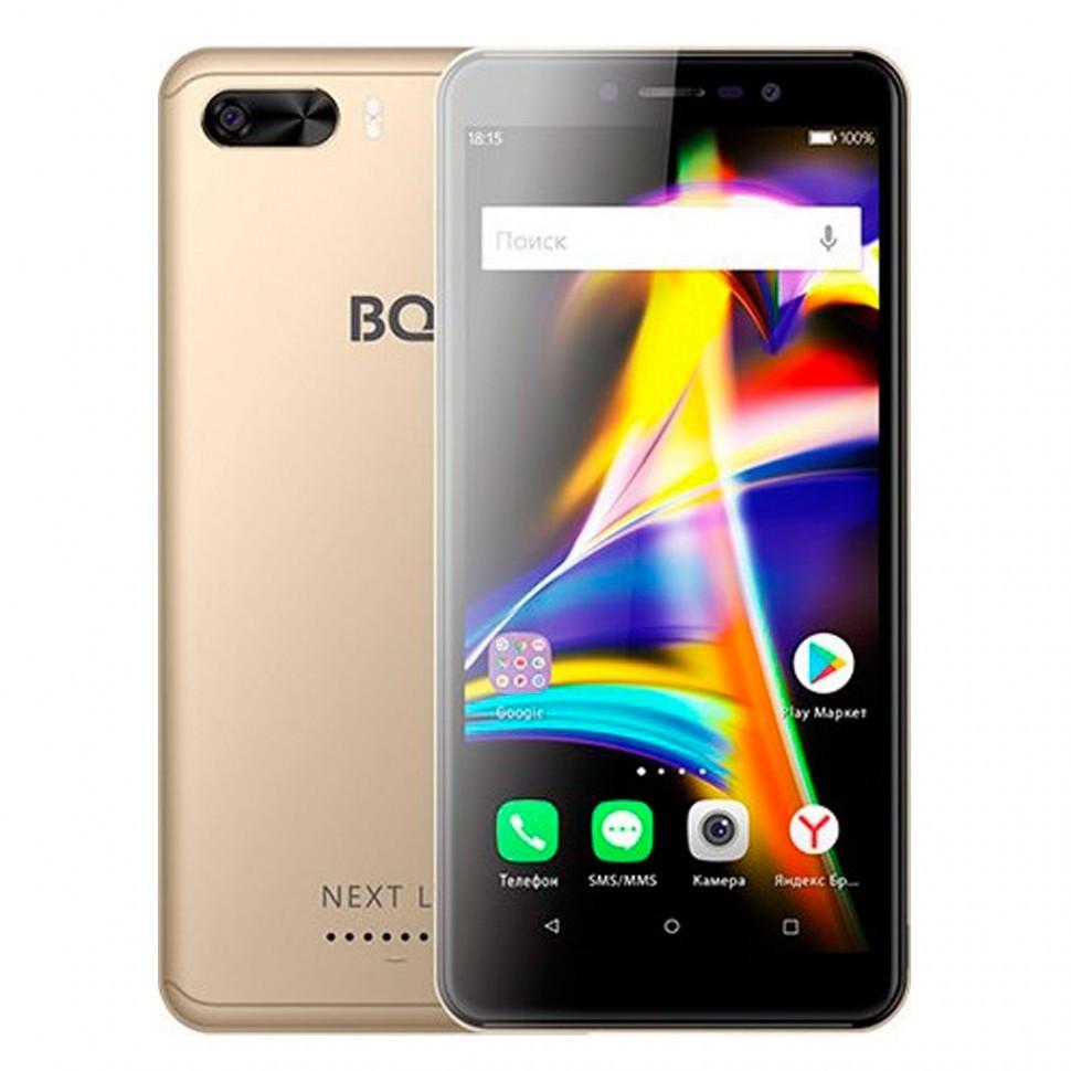 Смартфон BQ 5508L Next LTE Gold