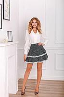 Женская осенняя черная юбка MEDIUM 5315 42р.