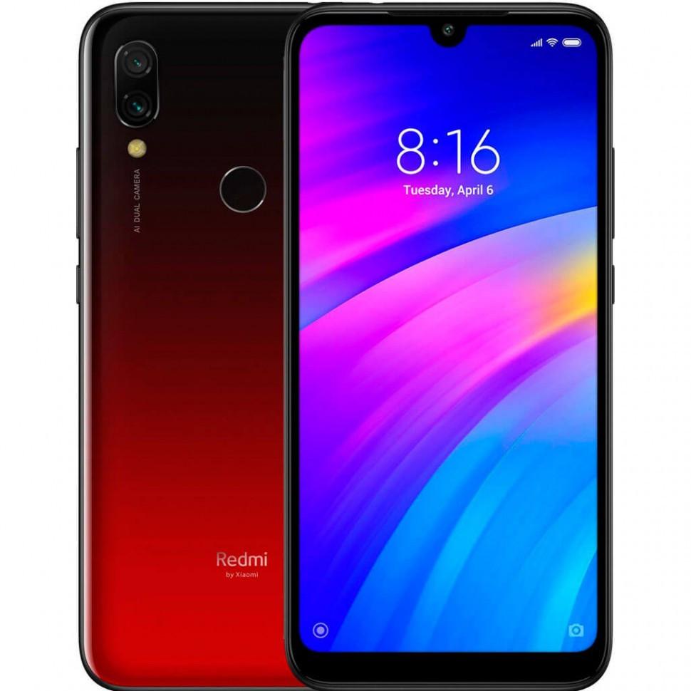 Смартфон XIAOMI Redmi note 7 3+32 red