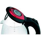 Электрический чайник Scarlett SC-EK27G99 (стекло) красный, фото 2
