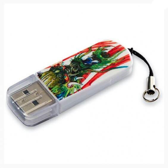 USB накопитель 8GB 2.0 Verbatim 049884 дракон