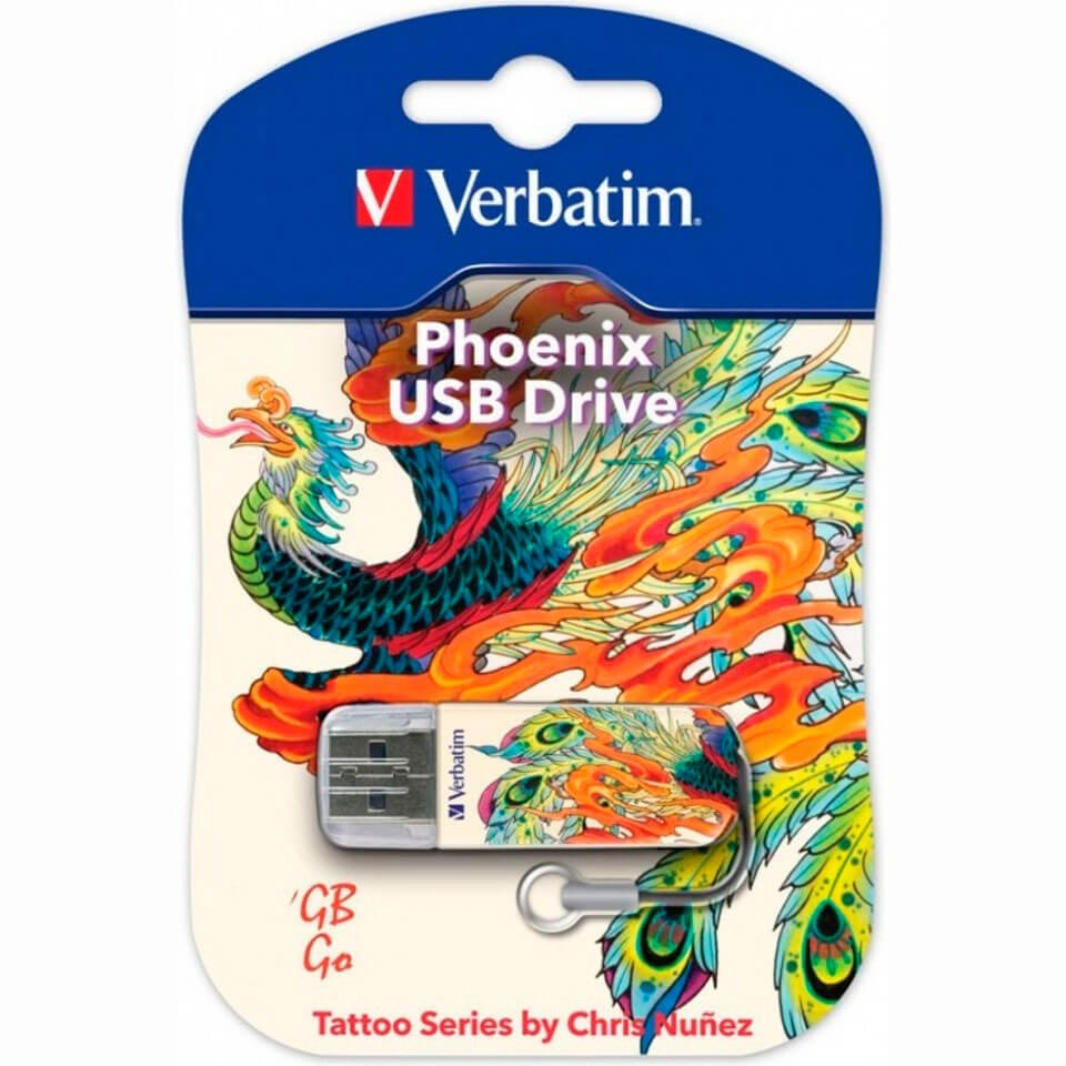 USB Флеш 32GB 2.0 Verbatim 049898 феникс